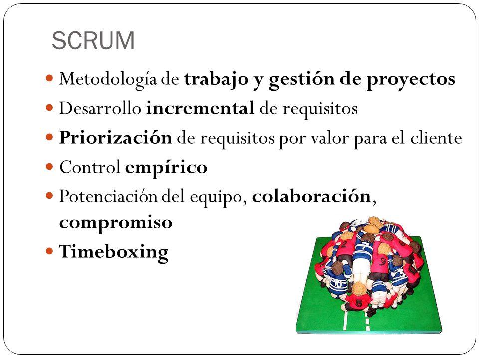 Roles en SCRUM Product Owner Interlocutor entre el cliente y el equipo.