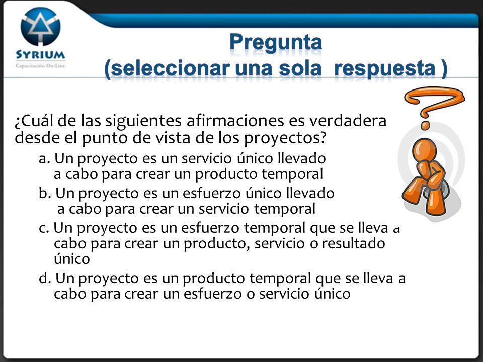 Rosario Morelli, PMP rmorelli@syrium-online.com Fin del repaso del primer módulo Definiciones iniciales