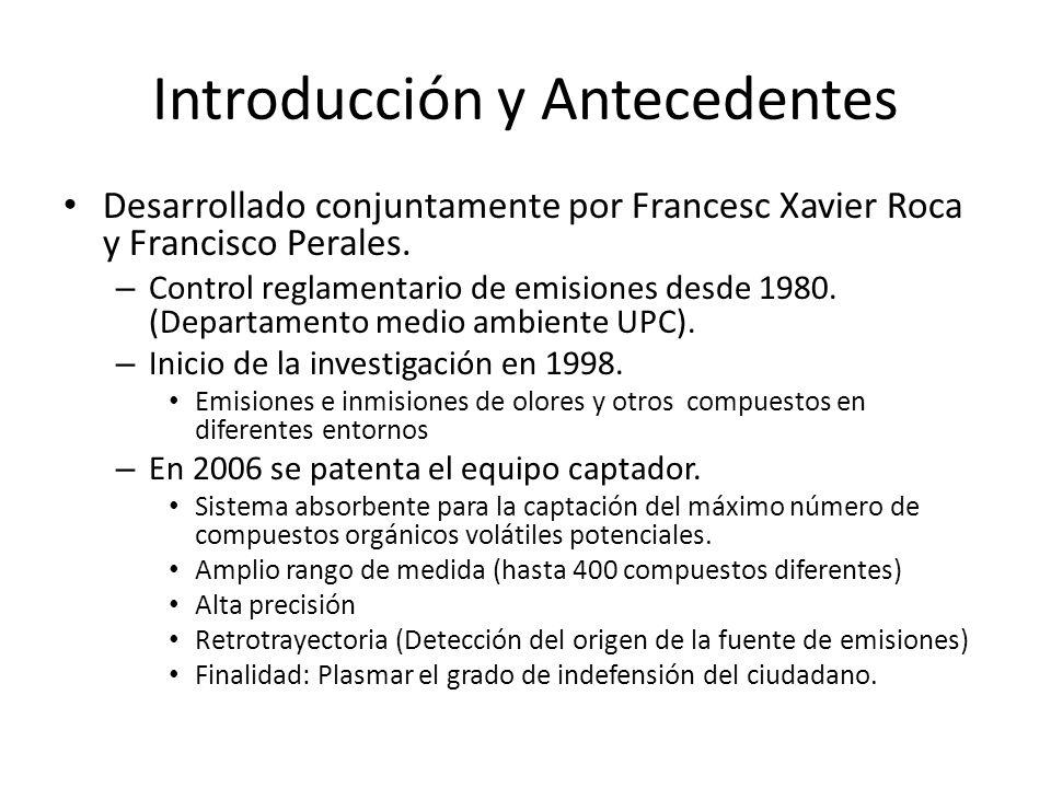 Introducción y Antecedentes Desarrollado conjuntamente por Francesc Xavier Roca y Francisco Perales. – Control reglamentario de emisiones desde 1980.