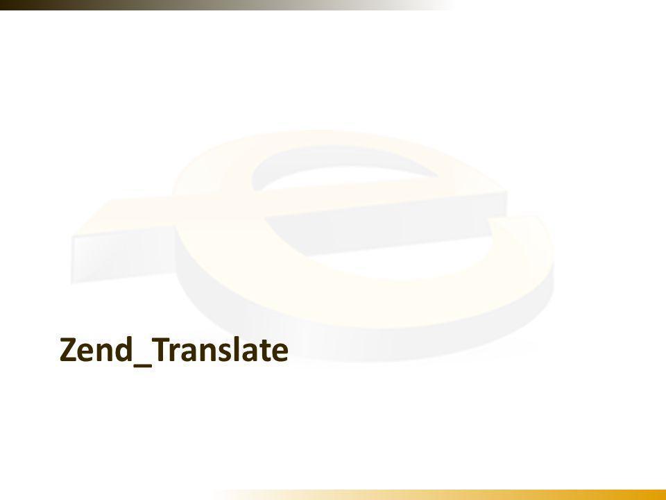 Zend_Translate