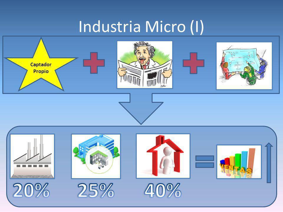 Industria Micro (I) Captador Propio
