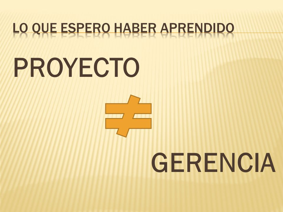 PROYECTO GERENCIA