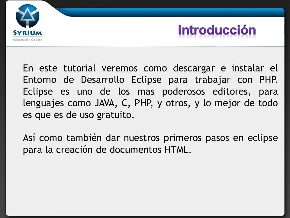 http://www.tallerwebmaster.com/tutorial/instalar-eclipse- pdt-para-php/125/ http://www.tallerwebmaster.com/tutorial/instalar-eclipse- pdt-para-php/125/ http://betatwits.wordpress.com/2010/05/05/instalar- eclipse-para-php/ http://betatwits.wordpress.com/2010/05/05/instalar- eclipse-para-php/