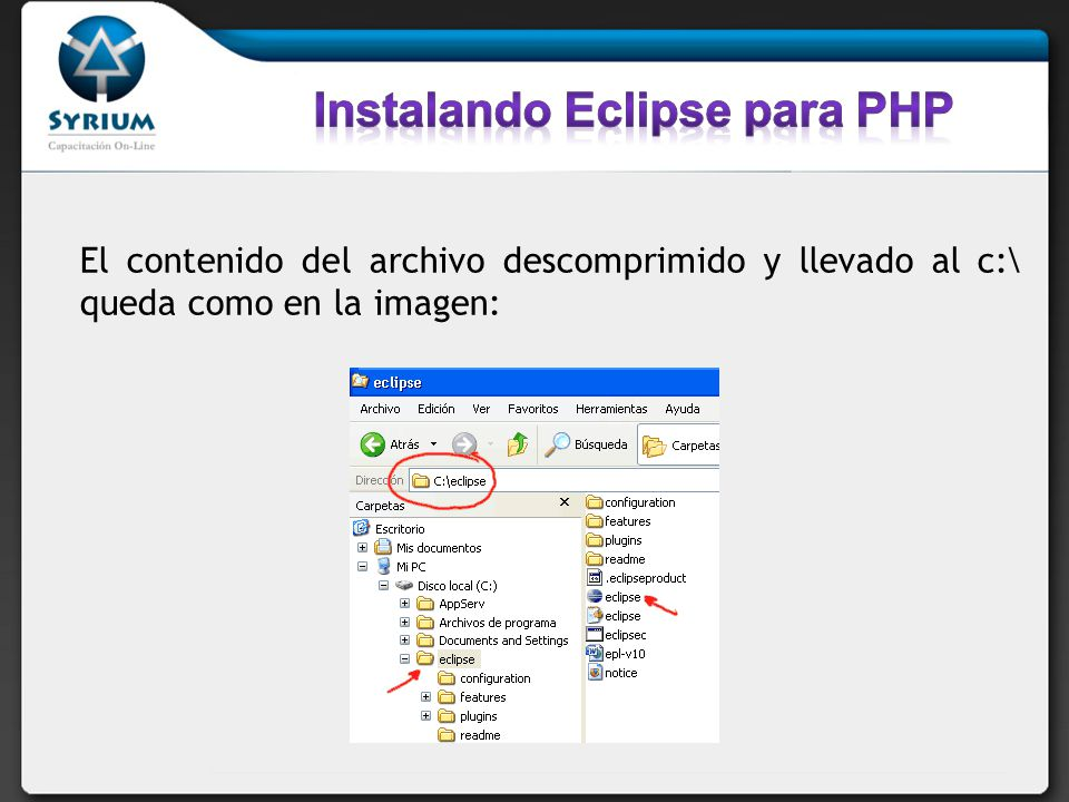 Con doble click en eclipse.exe, o en el icono si ya lo hemos creamos en el escritorio o barra de inicio, vamos a ver la carga de Eclipse, como la siguiente imagen: