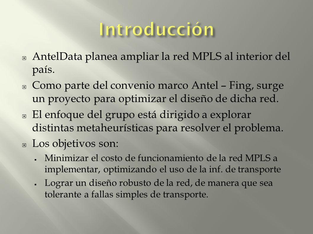 AntelData planea ampliar la red MPLS al interior del país.