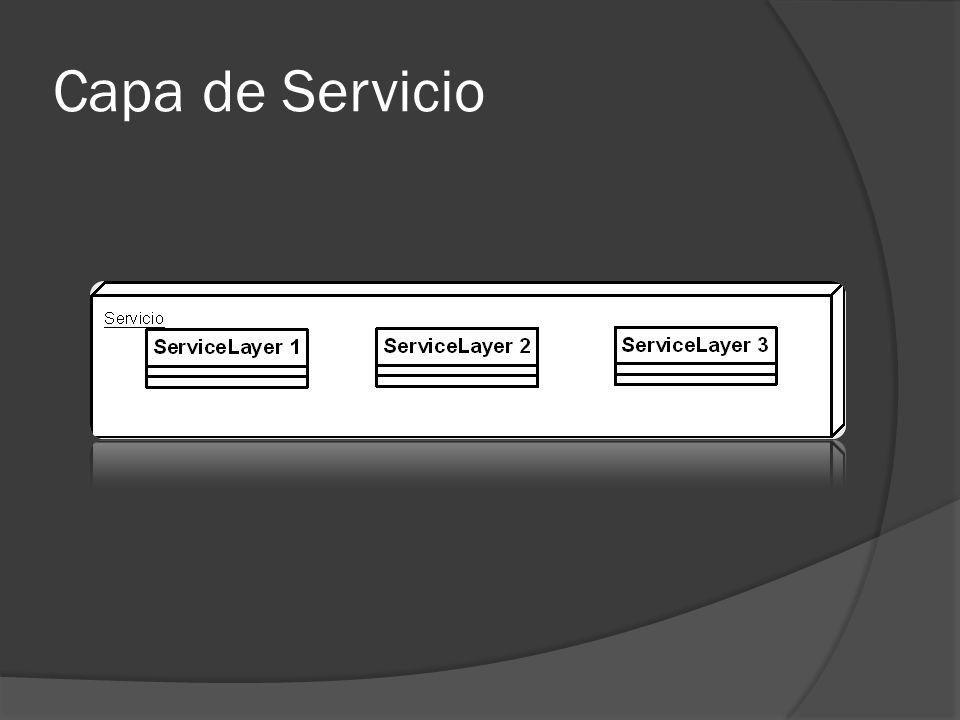 Capa de Servicio