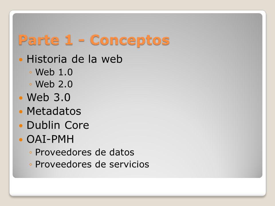 Posibilidades de extensión Actualmente soporta el formato Dublin core pero se puede extender a otros formatos de metadatos.