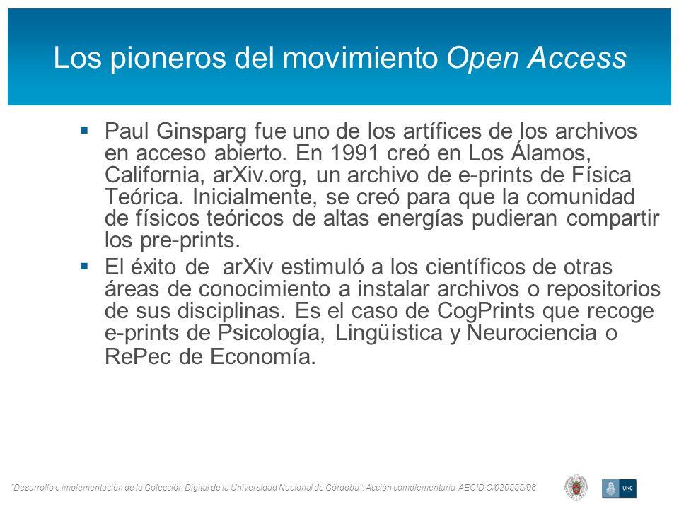 Desarrollo e implementación de la Colección Digital de la Universidad Nacional de Córdoba: Acción complementaria AECID C/020555/08 Aplicación para descargar artículos
