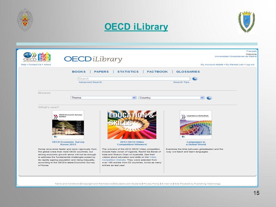 OECD iLibrary 15