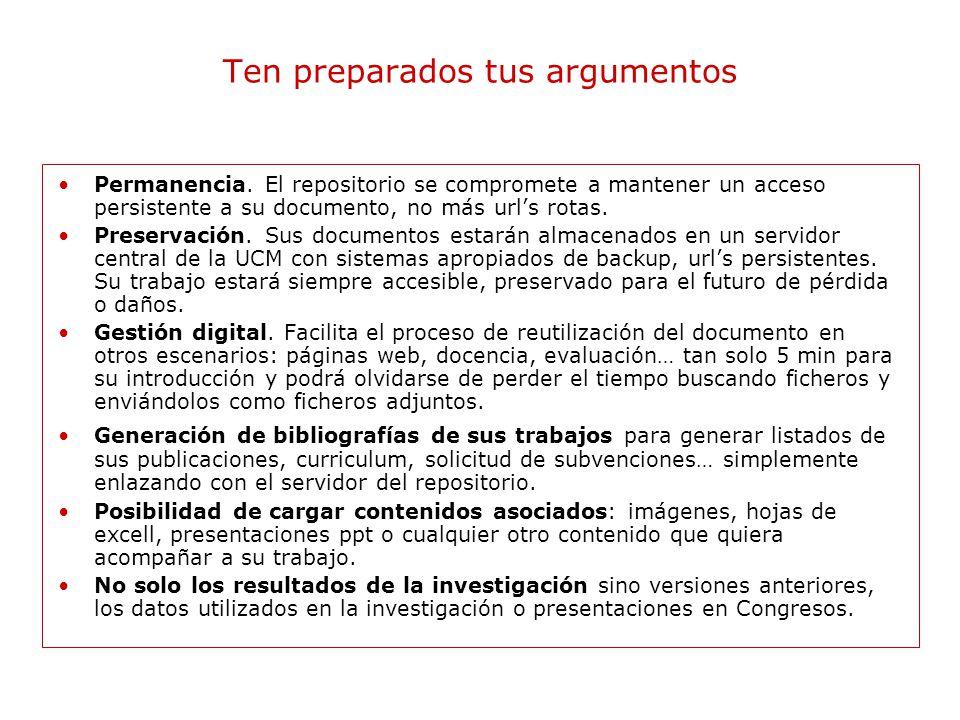 Estrategias para la difusión Conoce su cultura de publicación, evaluación y promoción para comprender sus planteamientos.