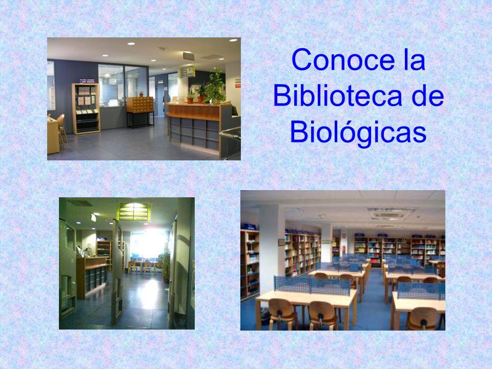 Conoce la Biblioteca de Biológicas