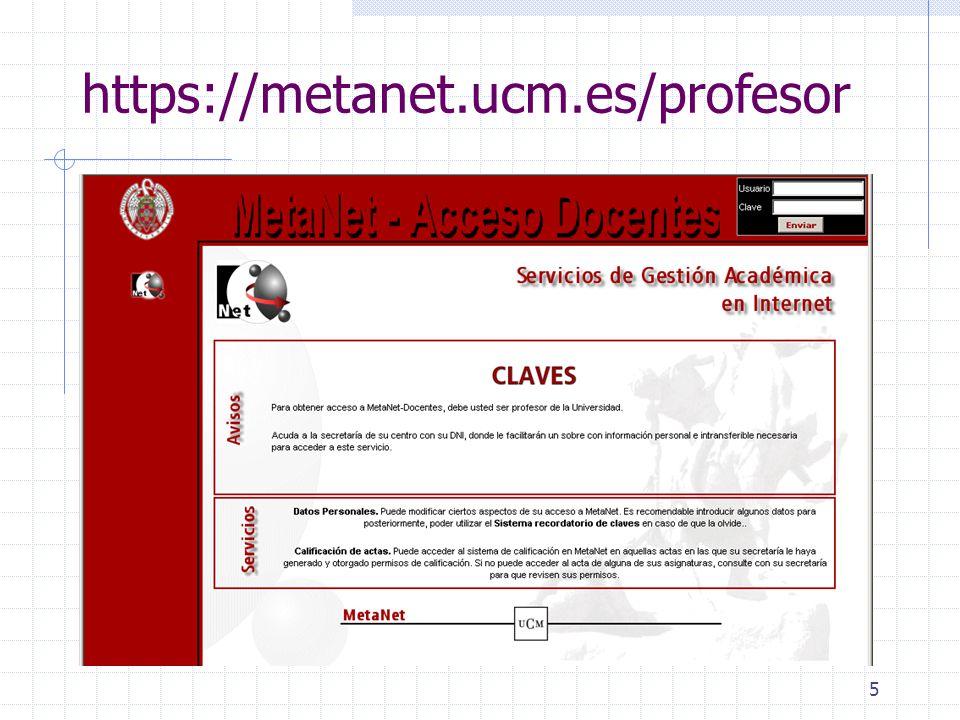 6 Datos personales Datos MetaNet