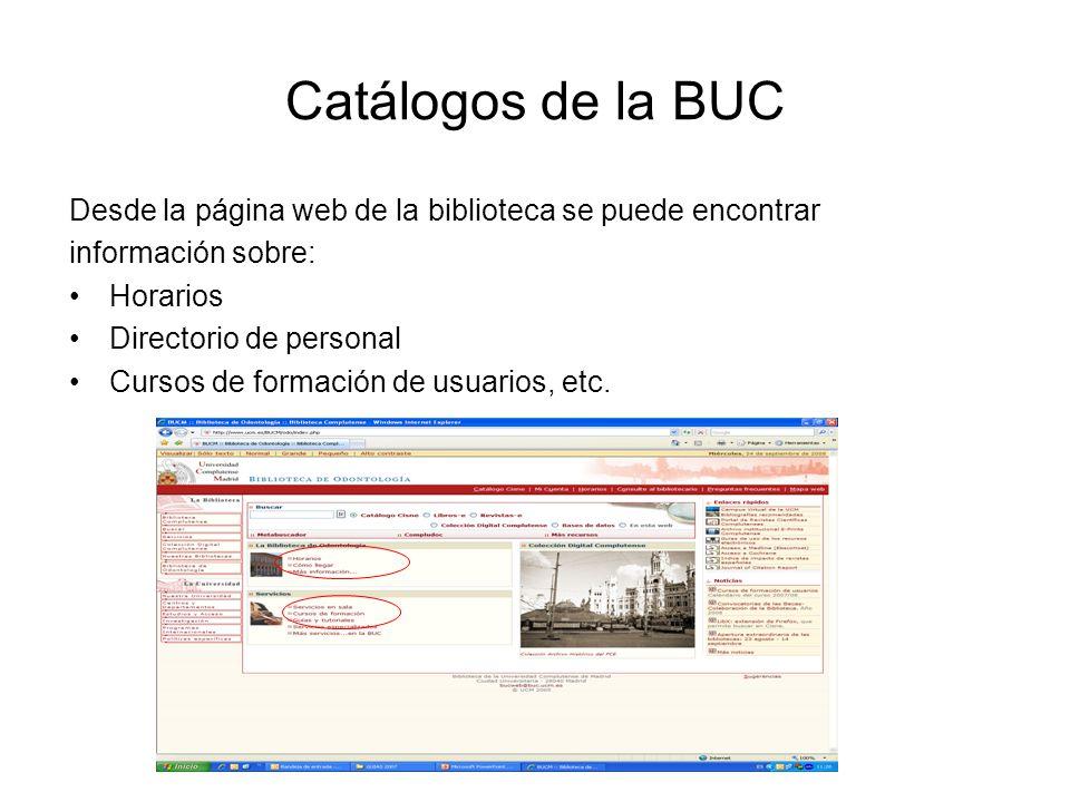 Catálogo CISNE El Catálogo general (CISNE) es una de las herramientas fundamentales de la biblioteca y proporciona: Información sobre todos los documentos que posee la Biblioteca, sin distinguir soportes En algunos casos, permite acceder al texto completo del documento desde el propio registro.