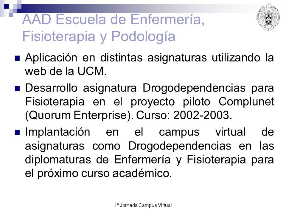 1ª Jornada Campus Virtual19 Foro