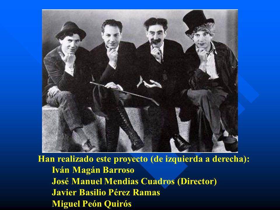 Han realizado este proyecto (de izquierda a derecha): Iván Magán Barroso José Manuel Mendias Cuadros (Director) Javier Basilio Pérez Ramas Miguel Peón Quirós