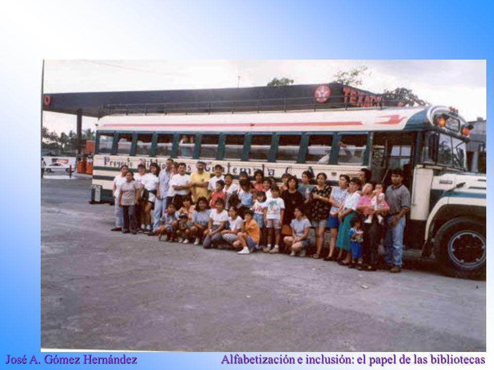 José A. Gómez Hernández Alfabetización e inclusión: el papel de las bibliotecas