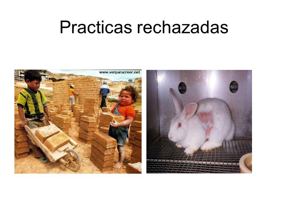 Practicas rechazadas