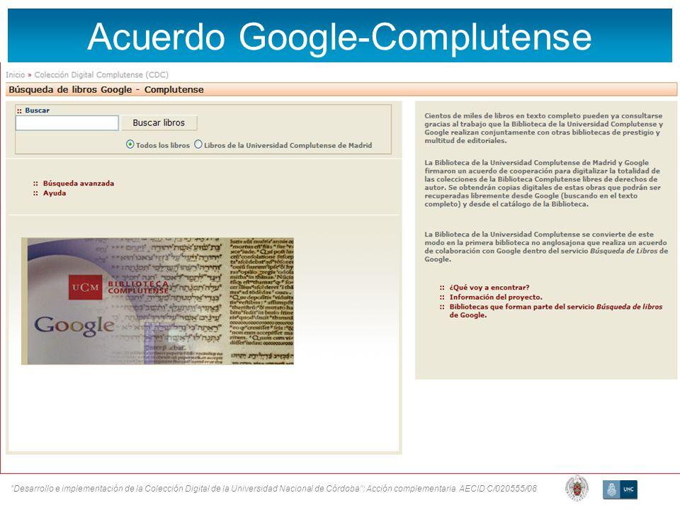 Acuerdo Google-Complutense