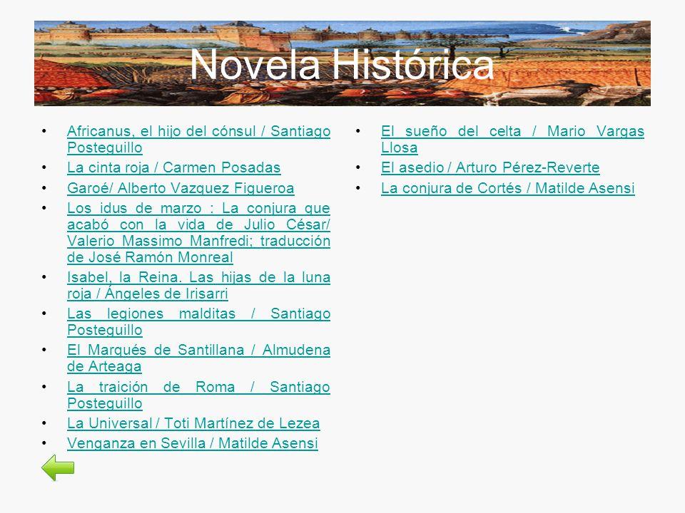 Novela Histórica Africanus, el hijo del cónsul / Santiago PosteguilloAfricanus, el hijo del cónsul / Santiago Posteguillo La cinta roja / Carmen Posad