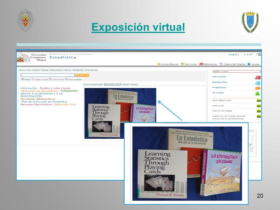 Exposición virtual 20