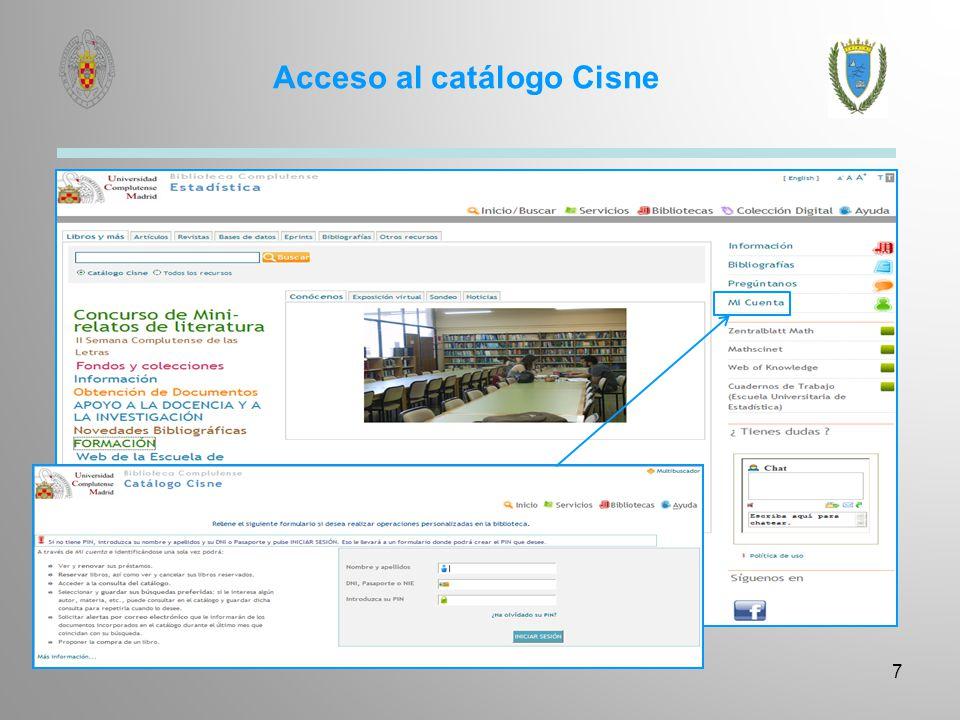 Servicios a usuarios con discapacidad Acceso al documento Localización y entrega de documentos.