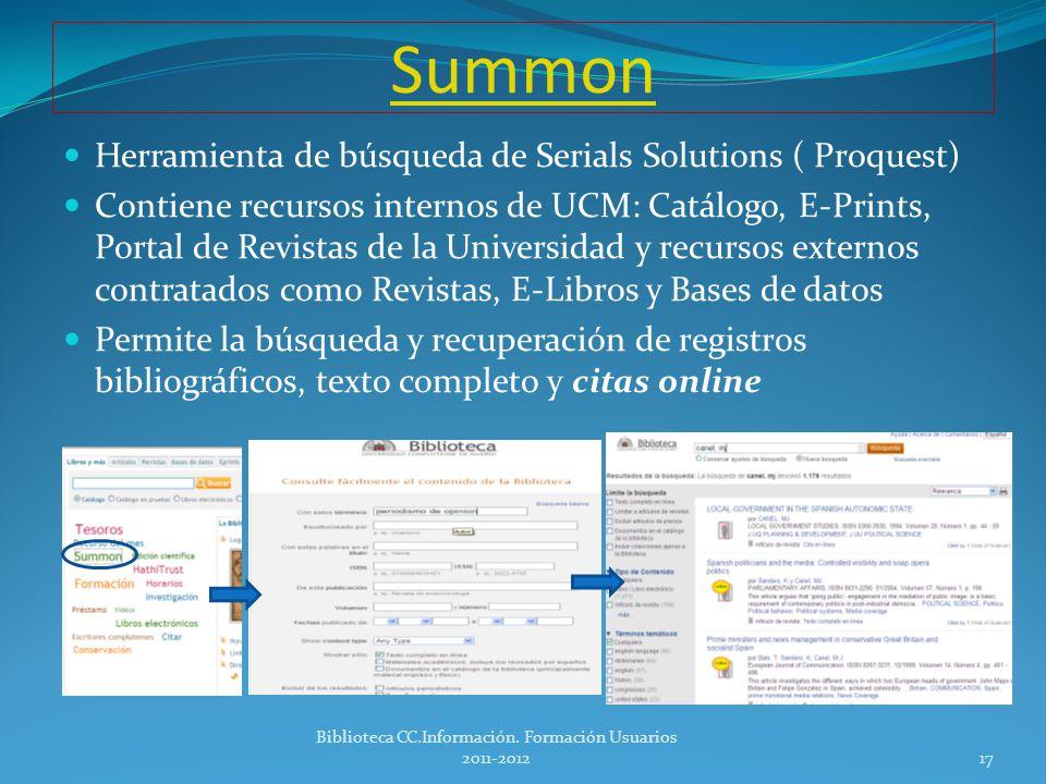 Google Scholar Citations http://scholar.google.com/citations?hl=en http://scholar.google.com/citations?hl=en Servicio de citas académico, que permite hacer un seguimiento de las citas de sus artículos en la red.