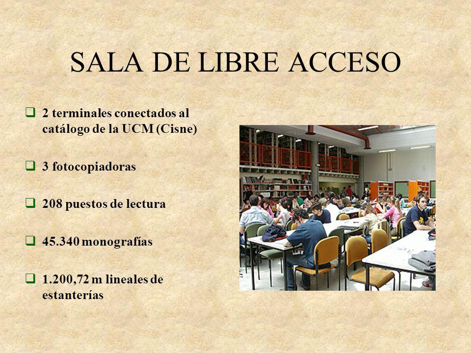 CLASES DE PRÉSTAMO PARA CONSULTA EN DOMICILIO PRÉSTAMO PARA CONSULTA EN SALA PRÉSTAMO INTEBIBLIO- TECARIO EN EL MOSTRADOR DE PRÉSTAMO EN LA MÁQUINA DE AUTOPRÉSTAMO EN LOS DESPACHOS DE LA MEDIATECA TODA CLASE DE USUARIOS USUARIOS UCM INVESTIGADORES Y DOCENTES UCM 3 volúmenes 4 volúmenes
