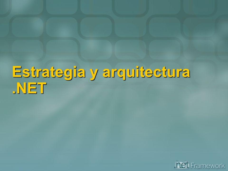 Estrategia y arquitectura.NET