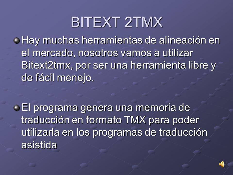 Utilizaremos los ALINEADORES para usar textos ya traducidos y convertirlos en activos lingüísticos. La finalidad de estos programas es crear memorias