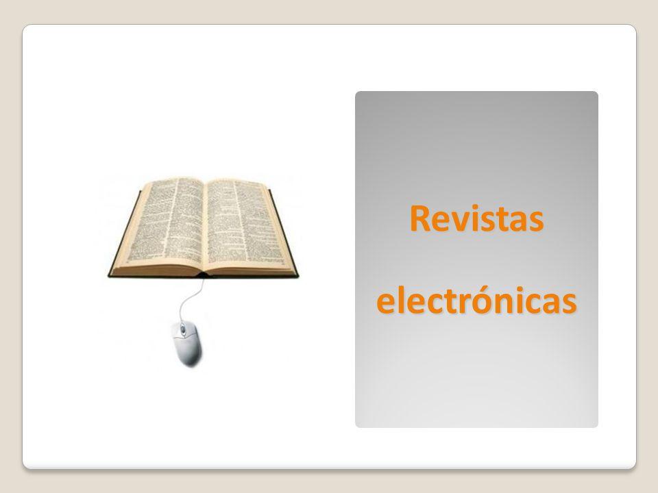 Revistaselectrónicas