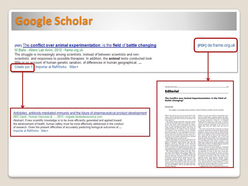 Google no siempre nos proporciona el texto completo Kim S, Kim S, Yang G, Rhee C.