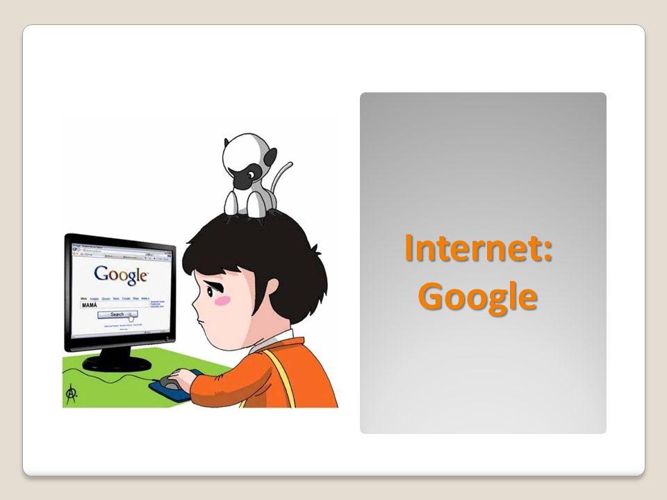 Internet: Google