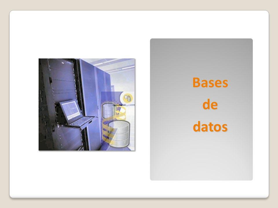 Bases de datos