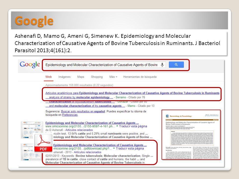 Google: consejos de búsqueda Trucos de búsqueda: Todos los trucos y sugerencias Información farmacoterapéutica: http://sites.google.com/site/informacionfarmacoterapeutica/trucos http://sites.google.com/site/informacionfarmacoterapeutica/trucos Búsqueda avanzada: http://www.google.es/advanced_search Búsqueda de trabajos académicos: Google Académico http://scholar.google.es Búsqueda de documentos específicos: palabra a buscar filetype:tipo de archivo base de datos filetype:pdf Búsqueda de una frase explícita: expresión a buscar entre comillas base de datos Búsqueda dentro de un sitio web: site:sitioparabuscar.com palabras a buscar site:ucm.es base de datos Búsqueda textual: Verbatim Menú Herramientas de búsqueda, opción Todos los resultados.