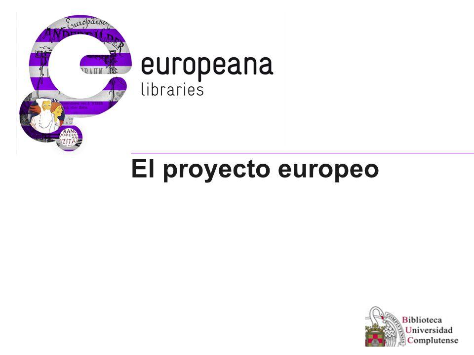 El proyecto europeo