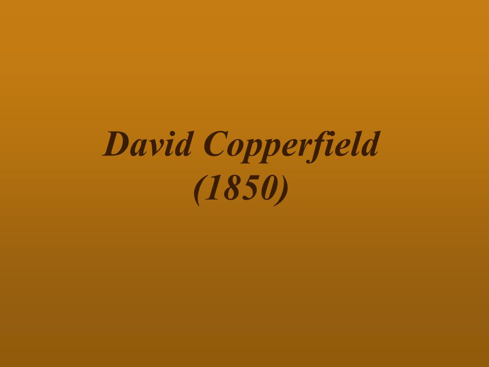 David Copperfield (1850)