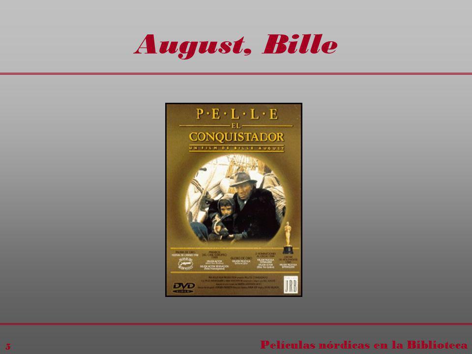 Películas nórdicas en la Biblioteca 5 August, Bille