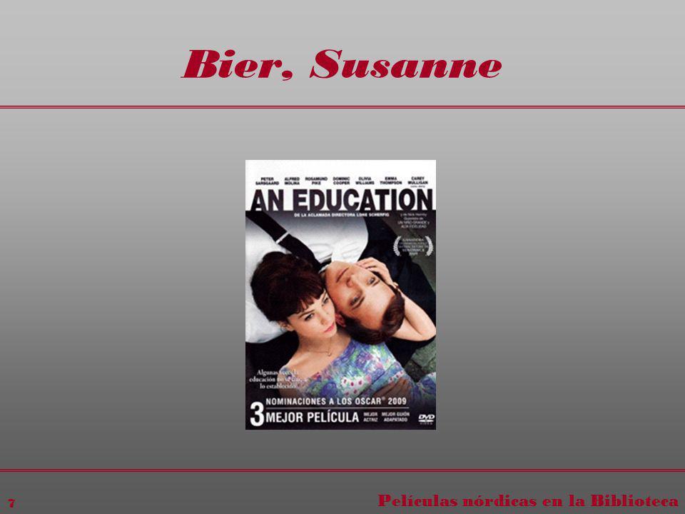 Películas nórdicas en la Biblioteca 7 Bier, Susanne