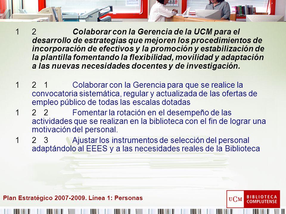 Plan Estratégico 2007-2009.