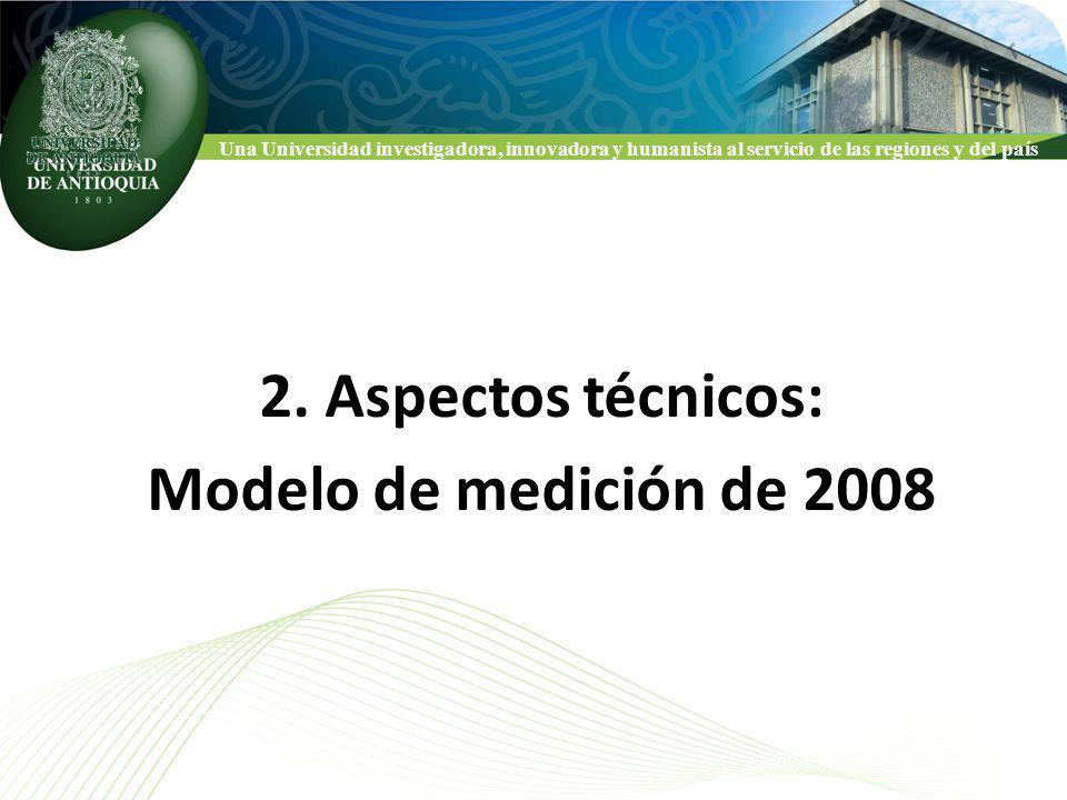 Una Universidad investigadora, innovadora y humanista al servicio de las regiones y del país CLASIFICACION NACIONAL DE GRUPOS COLCIENCIAS 2.