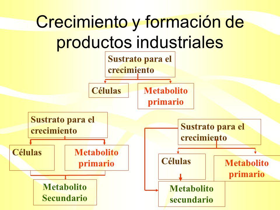 Productos químicos comerciales y producción de energía Productos químicos comerciales de estructura sencilla y bajo valor monetarios Etanol (combustible para motores) Ácido acético Ácido láctico Glicerol