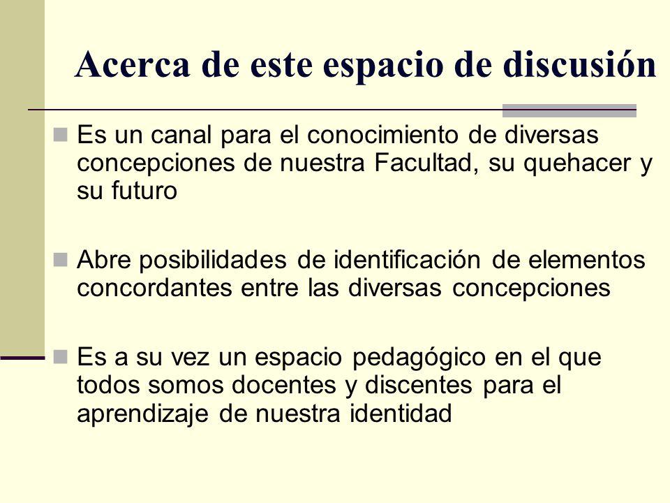 Invitación Todos a trabajar intensa y mancomunadamente para que nuestra Facultad avance hasta ser reconocida como la mejor de Colombia y una de las mejores de América Latina.
