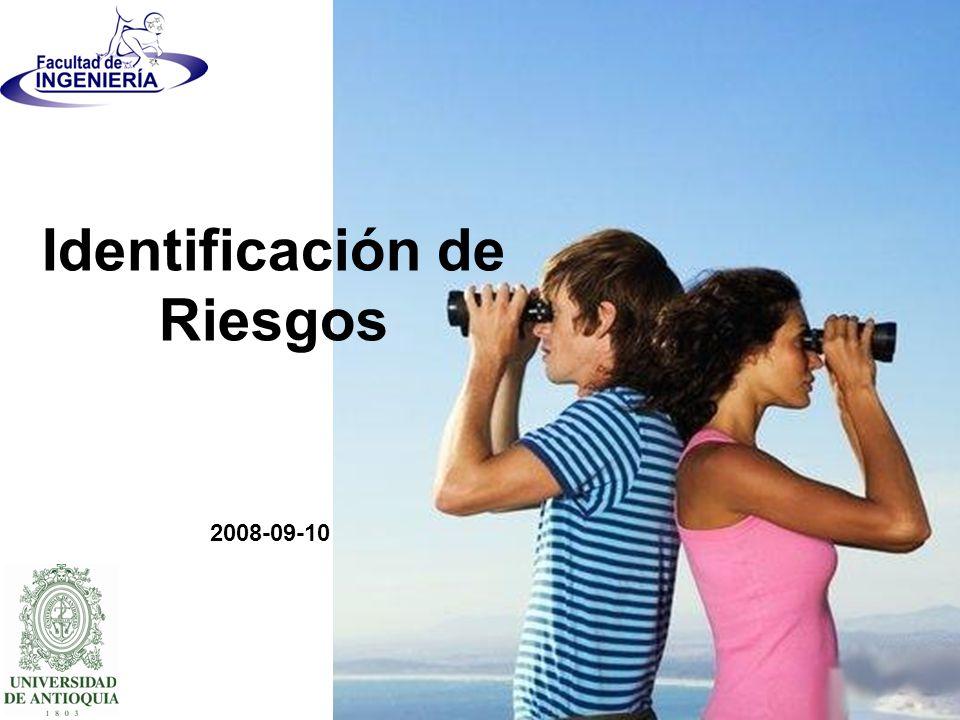 2008-09-10 Identificación de Riesgos