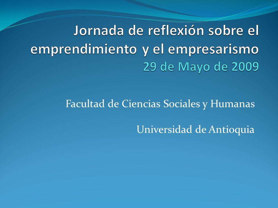 Mesa Nº 1 El emprendimiento y el empresarismo: una reflexión desde las ciencias sociales Juliana Tabares Quiroz Socióloga UdeA.