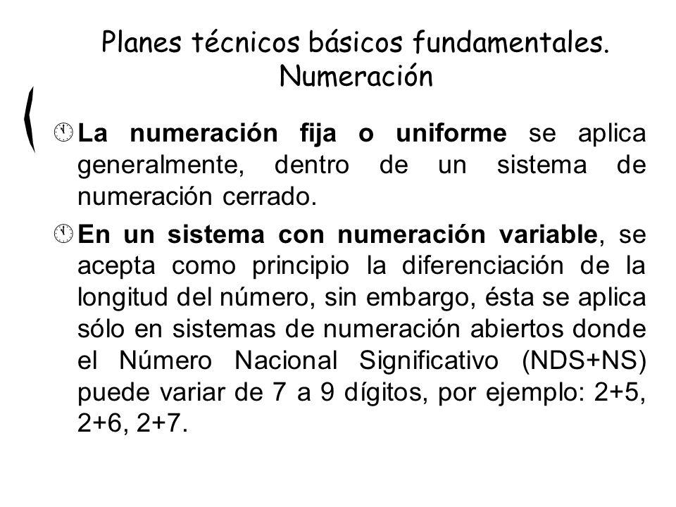 ÁLa numeración fija o uniforme se aplica generalmente, dentro de un sistema de numeración cerrado. ÁEn un sistema con numeración variable, se acepta c