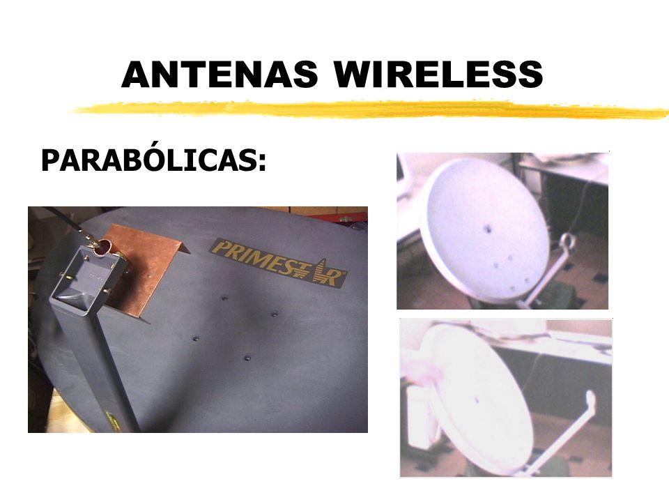 ANTENAS WIRELESS PARABÓLICAS: