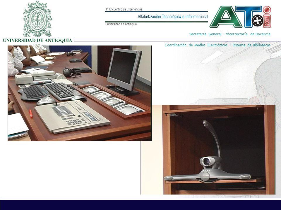 Secretaría General · Vicerrectoría de Docencia Coordinación de Medios Electrónicos · Sistema de Bibliotecas
