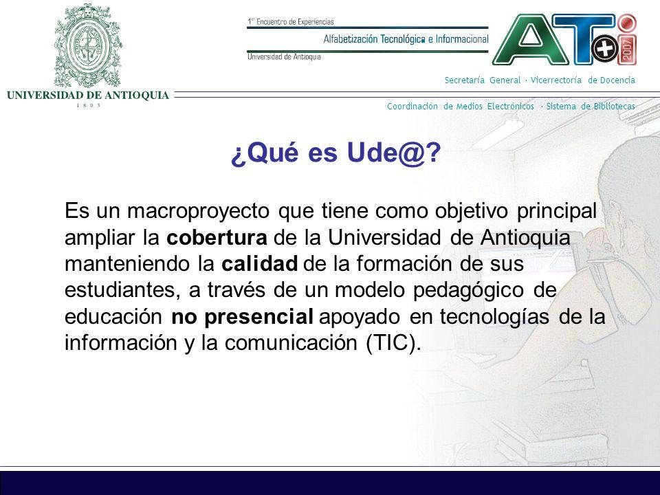 Secretaría General · Vicerrectoría de Docencia Coordinación de Medios Electrónicos · Sistema de Bibliotecas 1.