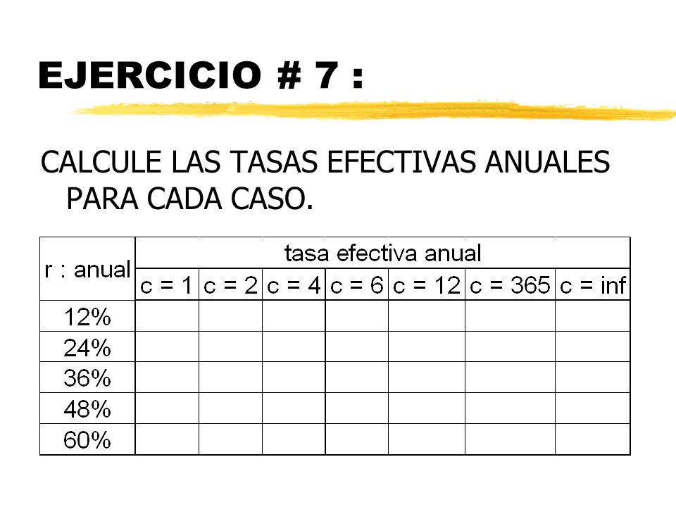 CASO 4:INTERACCION DE TASAS 4.1 TASA DE INTERES EN LA COMPRA DE DOLARES i dev = tasa de devaluación del peso por período i us = tasa de interés en dólares por período i = tasa de interés (total) en pesos por período