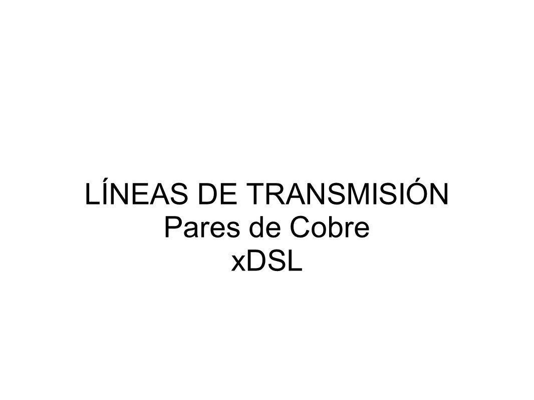 ADSL DMT (ITU G.992.1) Frec.